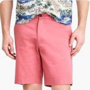 Men's J.Crew Rusty Red Cotton Casual Shorts